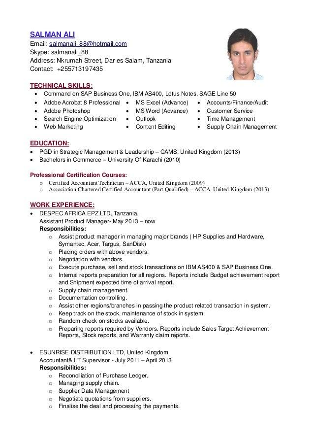 SALMAN ALI - Resume-2