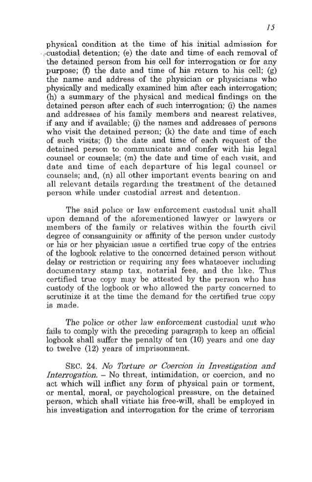 Anti-terrorism law