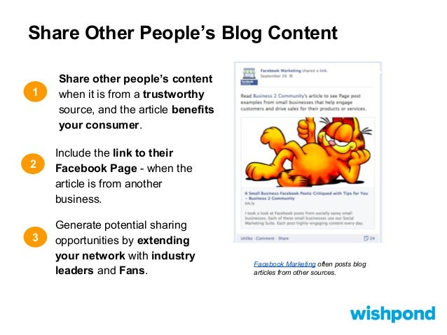 how to get traffic to your blog from facebook