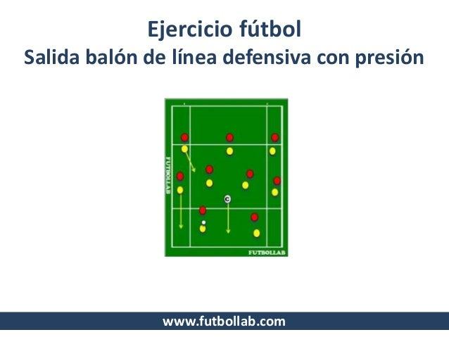 12 ejercicios de futbol
