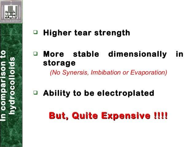 elastomeric Impression DENTAL material Slide 3