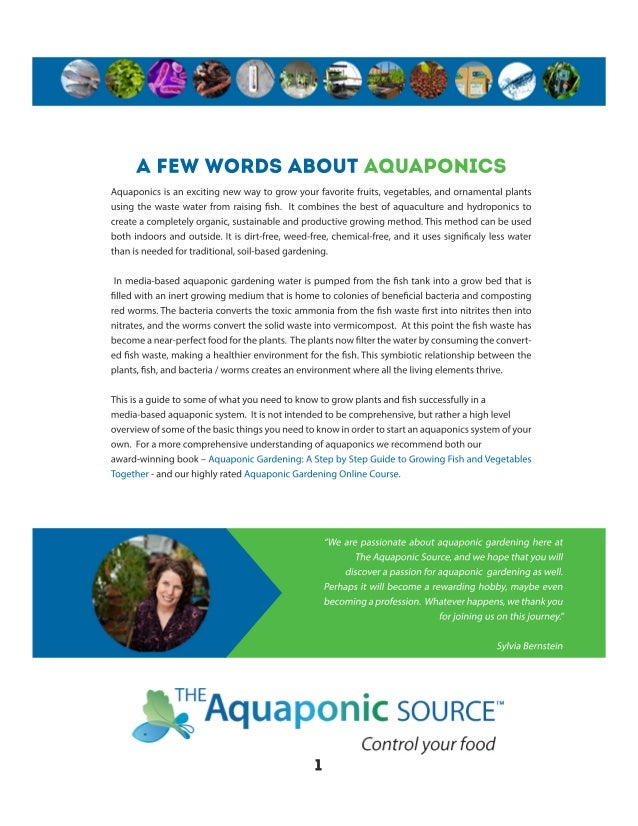Essentials for Aquaponics Success