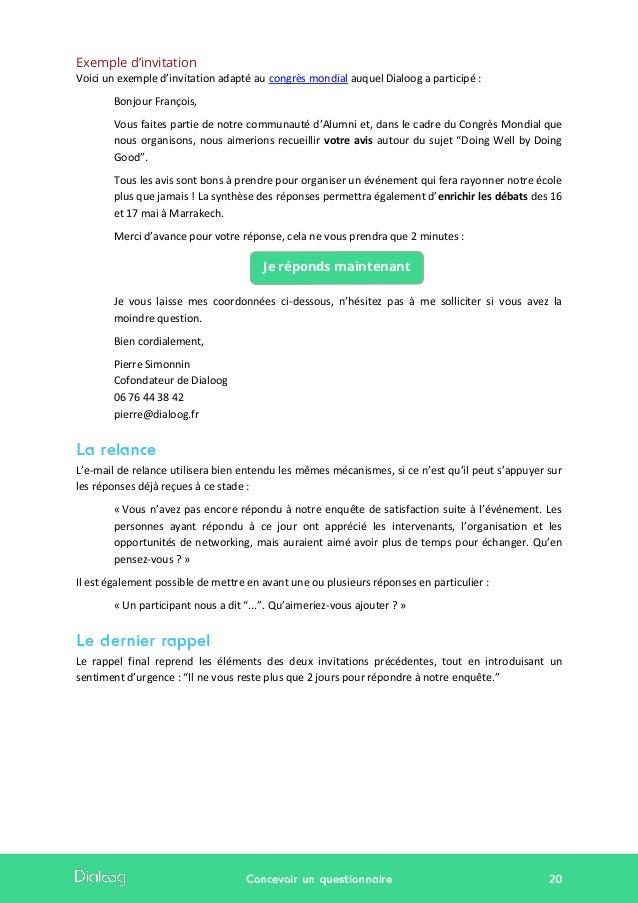 12 etapes pour reussir votre questionnaire - Livre blanc ...