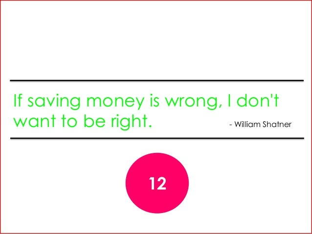12 Famous Quotes About Expenses And Savings