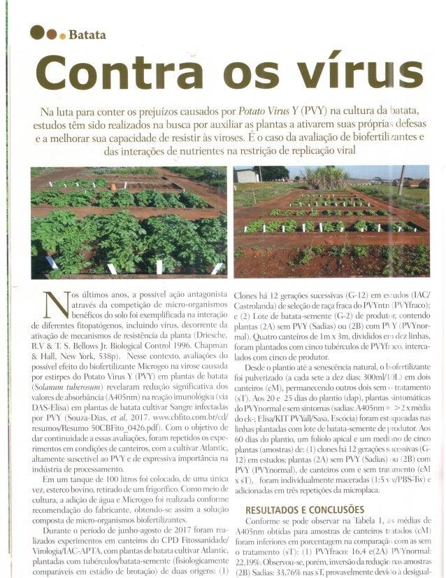 Contra o vírus - revista Cultivar