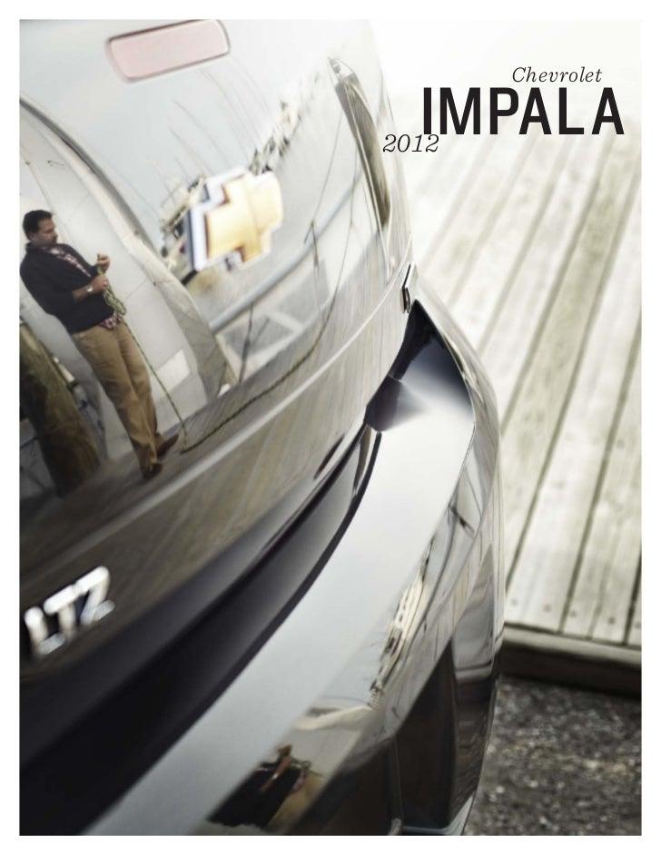 Chevrolet  IMPALA2012