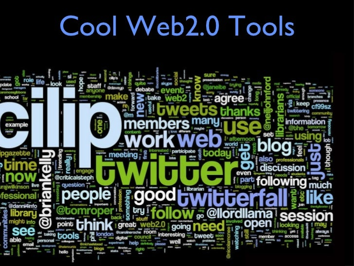 Cool Web2.0 Tools