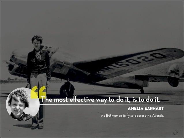 Amelia Earhart Quotes | Credits 1 Amelia Earhart S