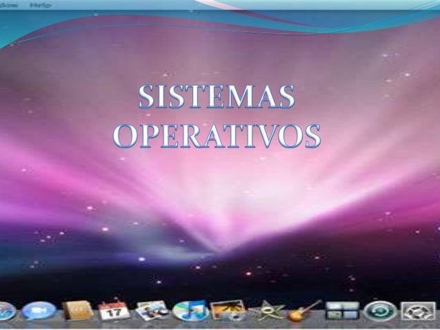  Um sistema operativo é um programa ou um  conjunto de programas cuja função é gerir os recursos do sistema (definir qual...