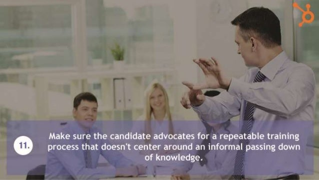 12 Interview Questions to Ask Every Sales Manager Candidate?