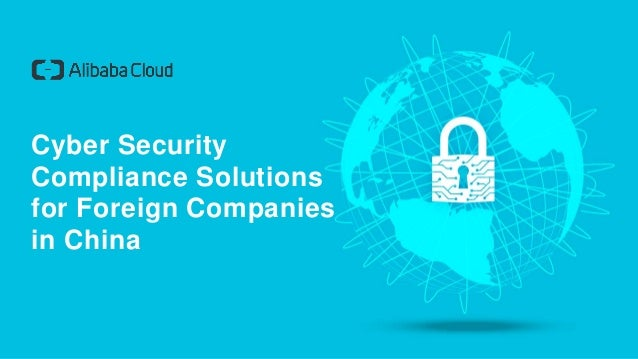 Cyber Security Compliance Solutions for Foreign Companies in