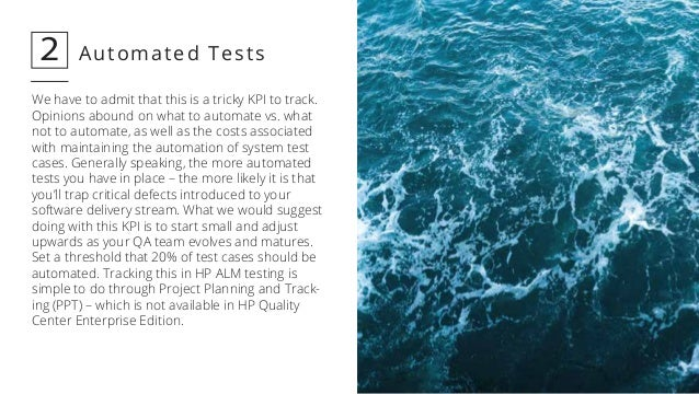 12 Key Performance Indicators for QA and Test Managers Slide 3