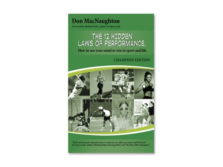 """The 12 Hidden laws of Performance """"Champion Edition"""" Launch"""