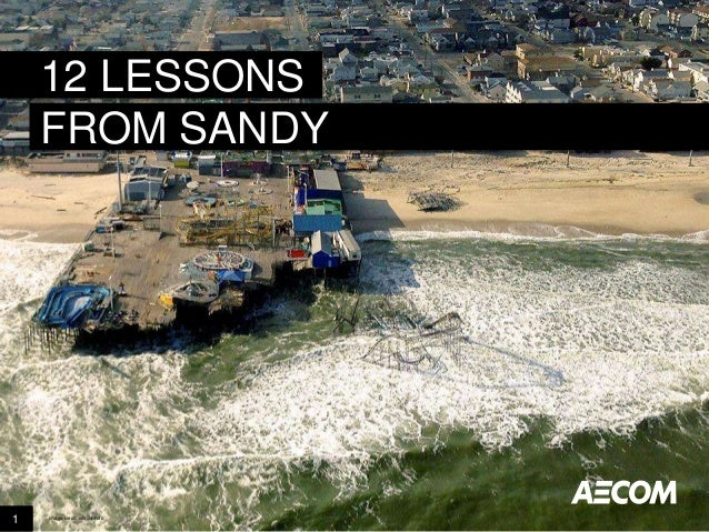 12 LESSONS FROM SANDY  1  Image credit: istockphoto