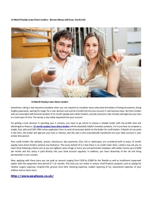 Perfect money loans image 2