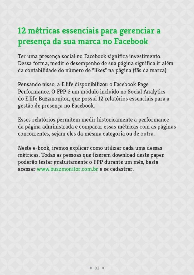 12 métricas essenciais para gerenciar a presença da sua marca no Facebook Slide 3