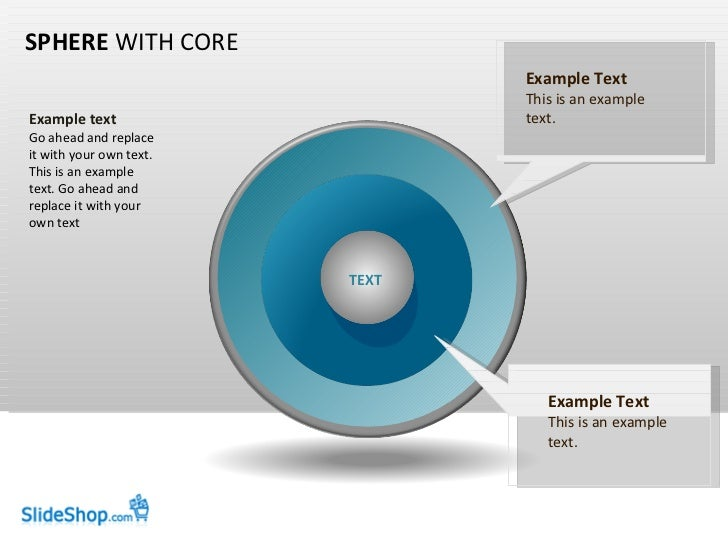 SPHERE  WITH CORE Example text Go ahead and replace it with your own text. This is an example text. Go ahead and replace i...