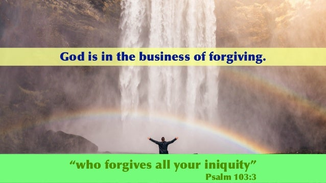 He Will Not Forgive Slide 2