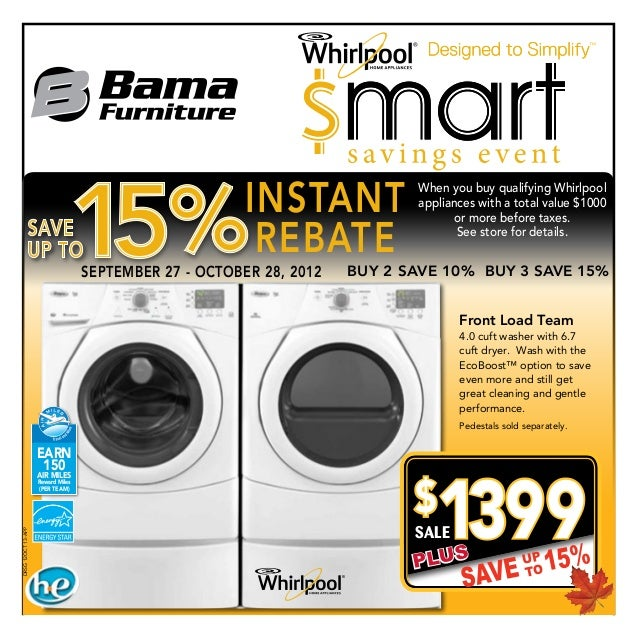 INSTANT             When you buy qualifying Whirlpool                                                                     ...
