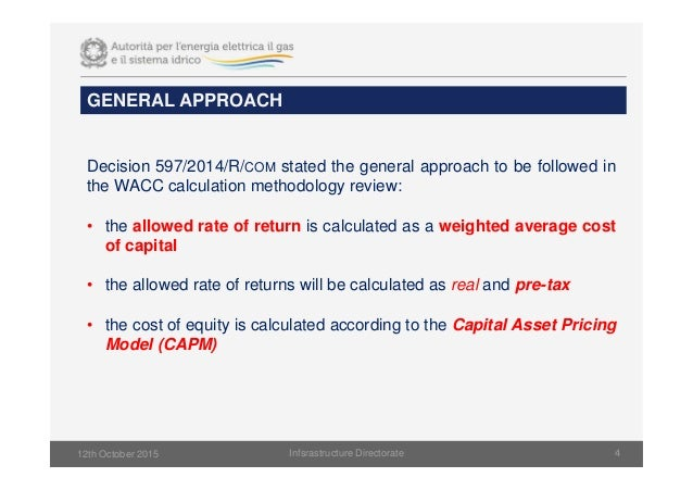 weighted average cost of capital calculation pdf