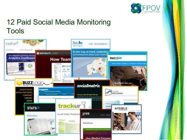 12 Paid Social Media MonitoringTools