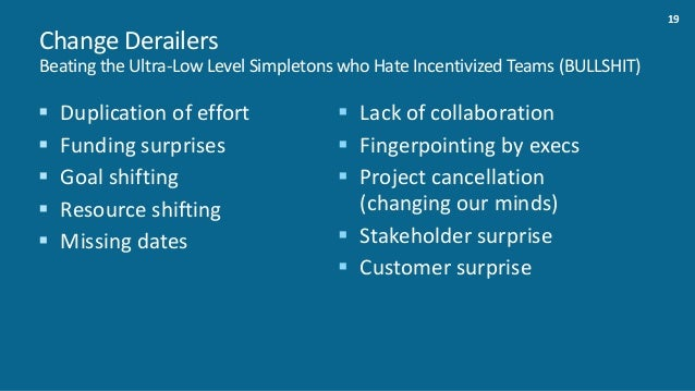 20 Takeaways 1. Culturematters 2. Communicationiskeyfororghealth 3. Communicationiskeyforexecution