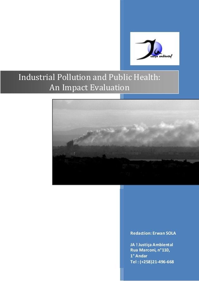 Pollution & Public Health