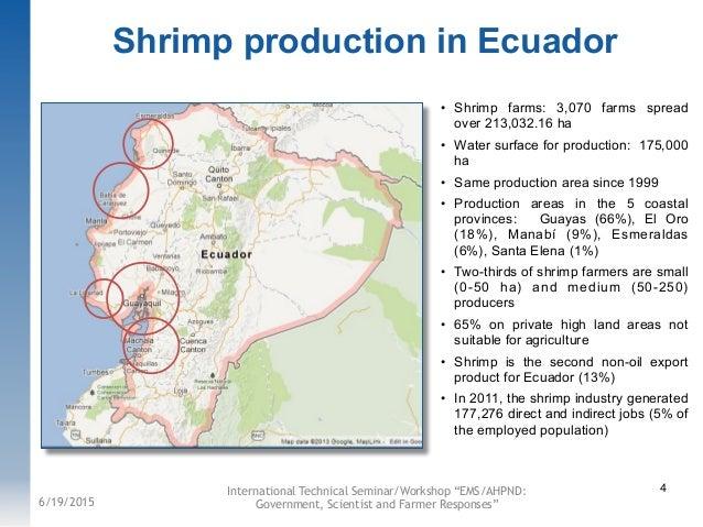 ecuador jobs presentation 12 shrimp production disease impacts and emsahpnd con