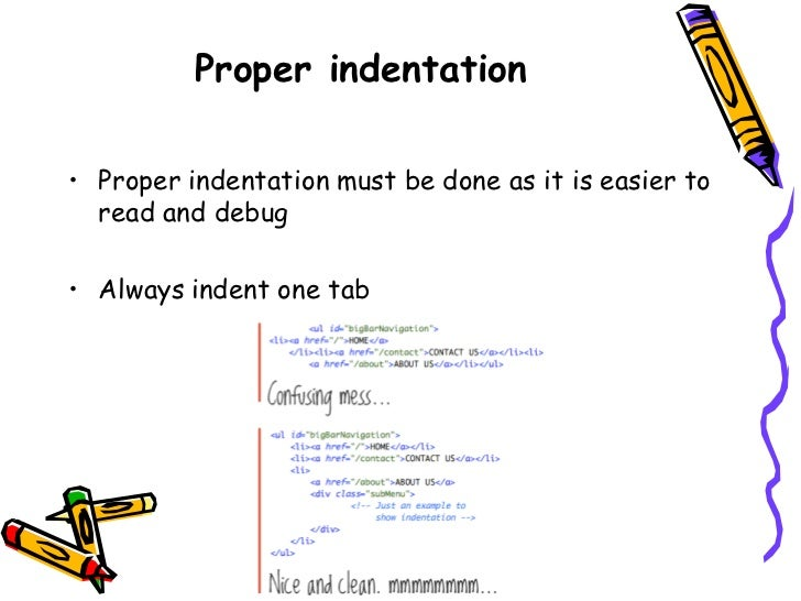 how to read indented writing at home