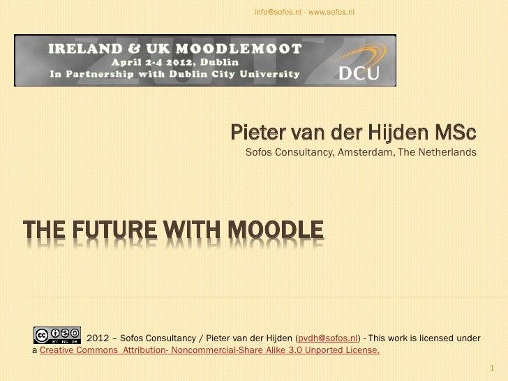 info@sofos.nl - www.sofos.nl                                               Pieter van der Hijden MSc                      ...