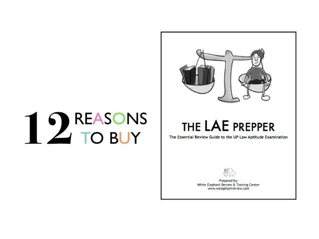 LAE Prepper Best UP Law Aptitude Exam Reviewer