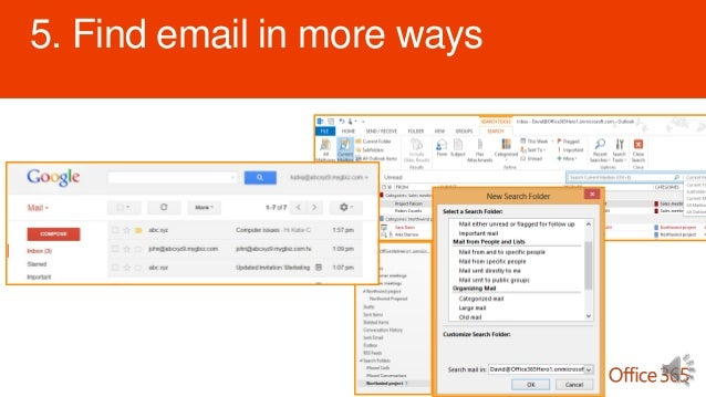 how to find mail gone from gmail folders