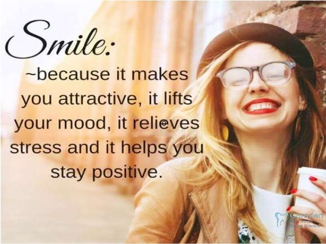 """Some Surprising Reasons """"You Should Smile Every Day"""" Slide 2"""