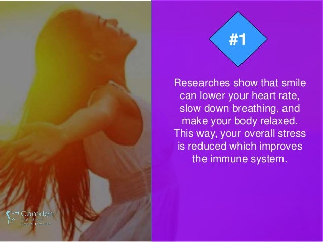 """Some Surprising Reasons """"You Should Smile Every Day"""" Slide 3"""