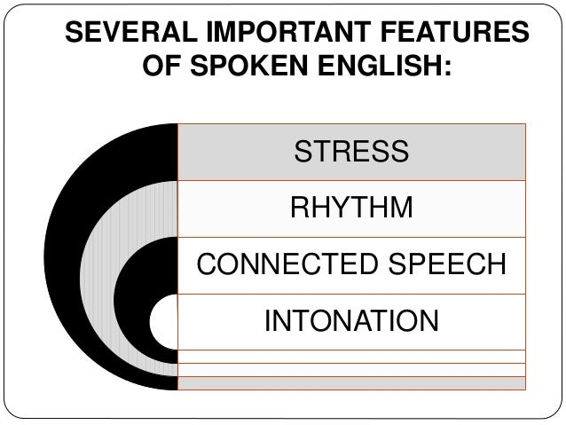 short notes on stress and rhythm in connected speech Rhythm, sentence stress, and intonation & connected speech the below material is based mainly on chapter 6 (connected speech) of peter avery and susan ehrlich's book entitled teaching american english pronunciation (published in 2010 by oxford university press).