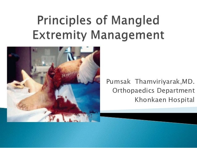 Pumsak Thamviriyarak,MD.  Orthopaedics Department        Khonkaen Hospital