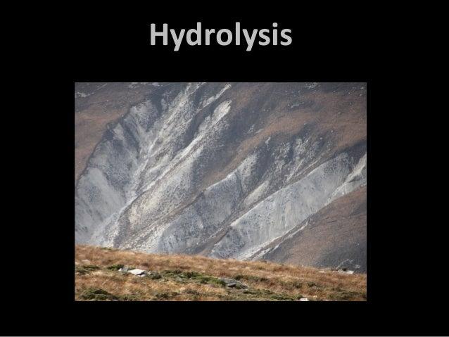 Hydrolysis rocks
