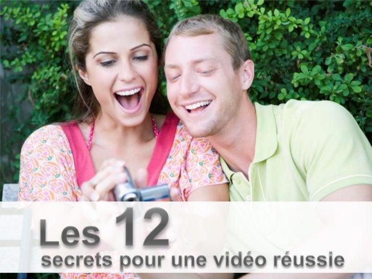 N 12 : Vérifiez la mémoire et la batterie. Impossible de tourner une vidéoréussie si votre batterie tombe à plat ou que vo...