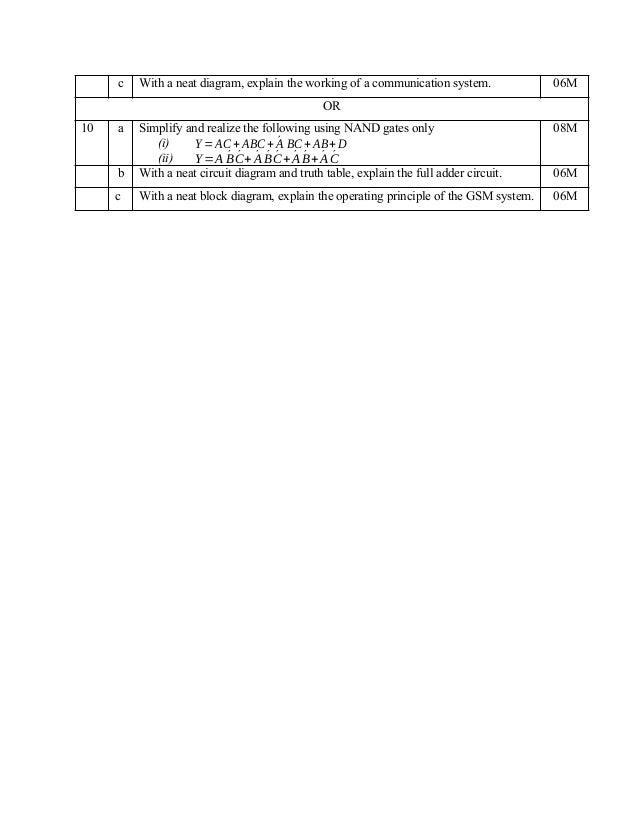 1 & 2 semester VTU 2018 cbcs scheme model question papers