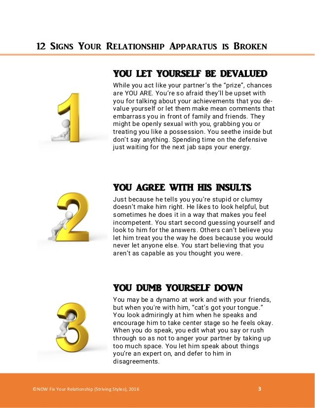 Codependent relationship signs