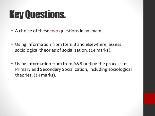 assess sociological explanations relationship between occu Start studying sociology chapter 2 the relationship between a an explanation of an abstract concept that is specific enough to allow a researcher to assess.