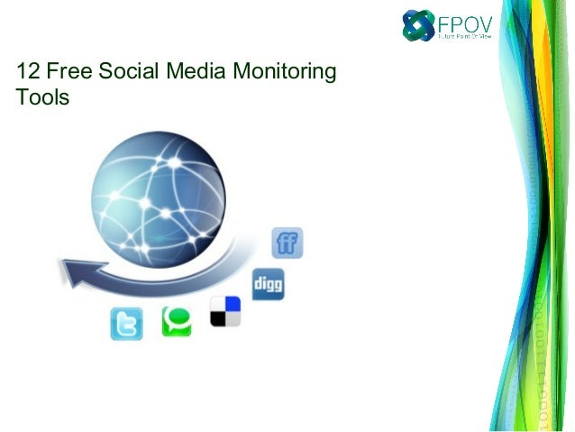 12 Free Social Media MonitoringTools