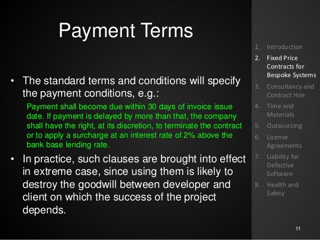 Software Contract And Liability