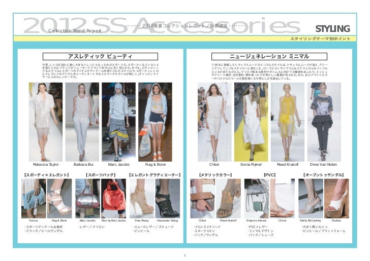 2012/SS Collection Trend [Accessories] by PREAL Slide 3