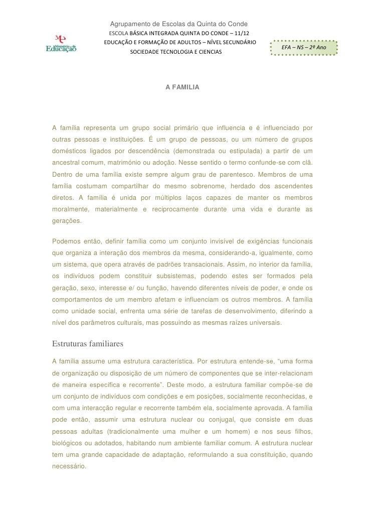 Agrupamento de Escolas da Quinta do Conde                  ESCOLA BÁSICA INTEGRADA QUINTA DO CONDE – 11/12CURSO DE        ...