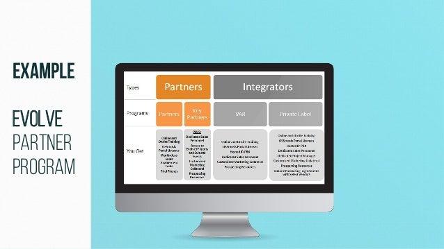Example Evolve Partner Program