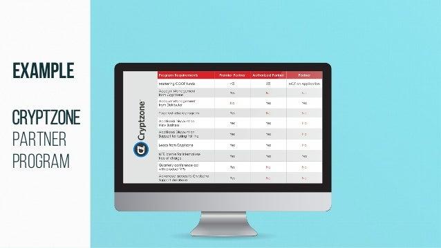 Example Cryptzone Partner Program