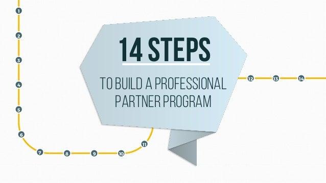 1 2 3 4 5 6 7 8 9 10 11 12 13 14 14 steps To builda professional partnerprogram