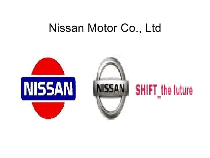 Nissan Motor Co., Ltd