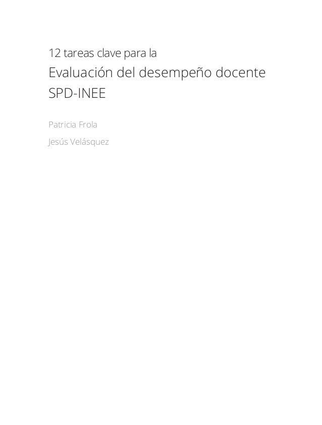 12 tareas clave para la evaluación del desempeño docente Slide 3
